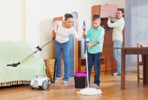 семья семейные отношения и домашние обязанности, уборка, фото
