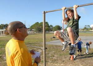 как научить ребенка подтягиваться на турнике, фото