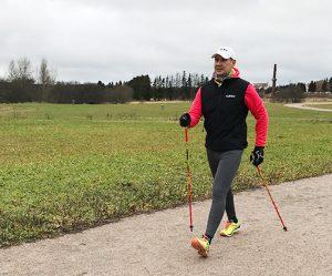 основоположник скандинавской ходьбы Марко Кантанева, фото