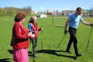 правила скандинавской ходьбы с палками для пожилых, фото