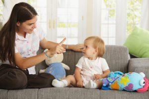 речь ребенка в 1 год, формируем через общение, картинка