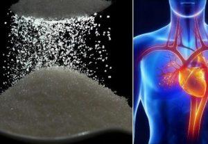 влияние избытка сахара на сердце и сосуды, картинка