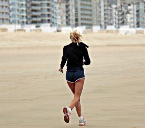 польза бега трусцой для женщин, картинка