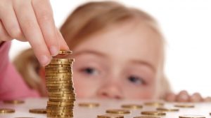 карманные деньги детям, картинка