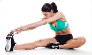 упражнения для растяжки всего тела в домашних условиях, картинка