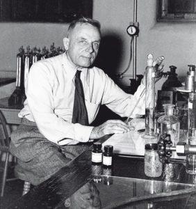 биохимик О. Варбург, картинка