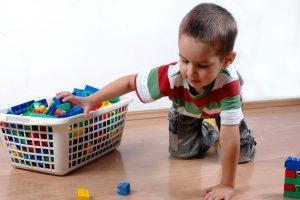 как приучать ребенка к порядку, картинка