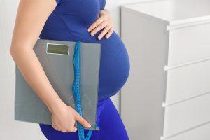 как похудеть во время беременности, фото