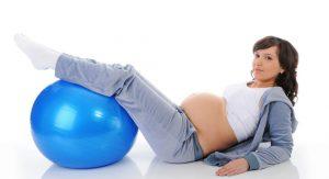 фитнес для беременных, картинка