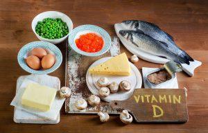продукты с витамином д, картинка