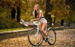 польза езды на велосипеде, фото