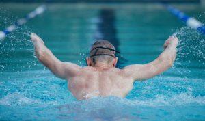 польза плавания, фото