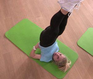 упражнение березка, фото