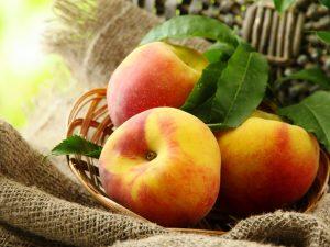 чем полезны персики для организма человека, картинка